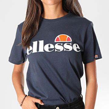 Ellesse - Tee Shirt Femme Albany Bleu Marine