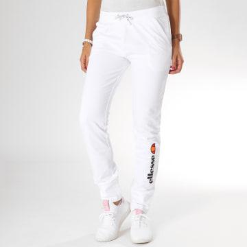 Ellesse - Pantalon Jogging Femme Fit Blanc