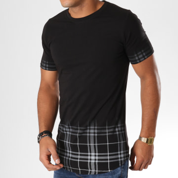 Tee Shirt Oversize JAK-074 Noir Gris