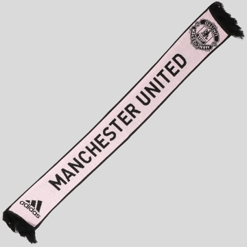 Adidas Performance - Echarpe Manchester United CY5579 Noir Rose