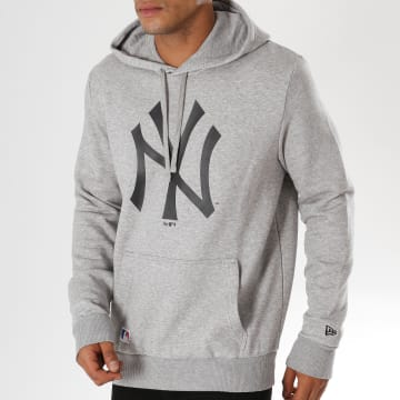 Sweat Capuche Team Logo New York Yankees 11863700 Gris Chiné