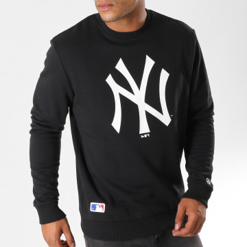 Sweat Crewneck Team Logo New York Yankees 11863705 Noir