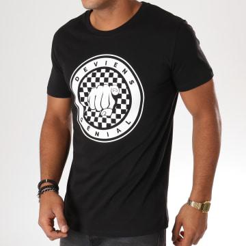 NQNT - Tee Shirt Deviens Génial Noir