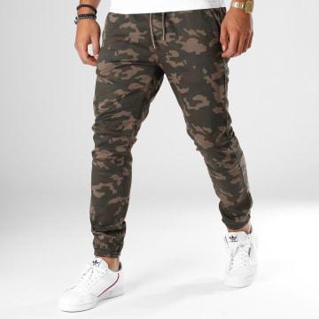 Reell Jeans - Jogger Pant Reflex 2 Vert Kaki Camouflage