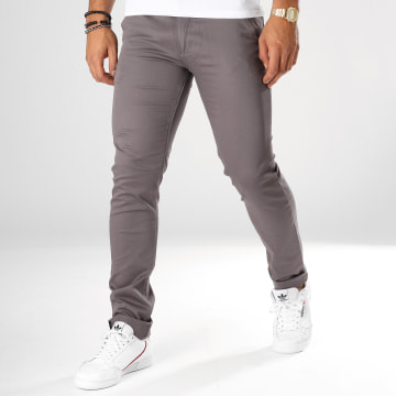 Black Needle - Pantalon Chino 1011 Gris