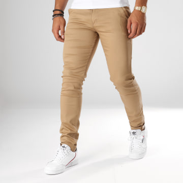Black Needle - Pantalon Chino 1012 Camel
