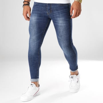 Frilivin - Jean Super Skinny Fit JK-885 Bleu Denim