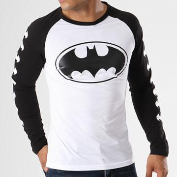 Tee Shirt Manches Longues Raglan Logos Noir
