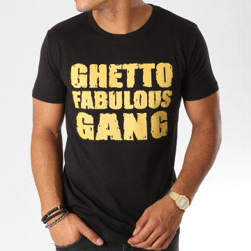 Ghetto Fabulous Gang - Tee Shirt Impact Noir