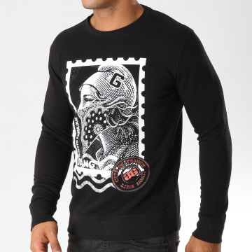 Ghetto Fabulous Gang - Sweat Crewneck Timbre Noir
