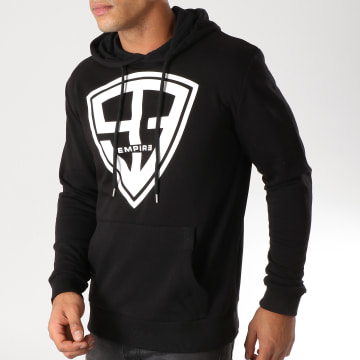 93 Empire - Sweat Capuche 93 Empire Noir