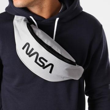 NASA - Sacoche Banane Worm Logo Gris Clair