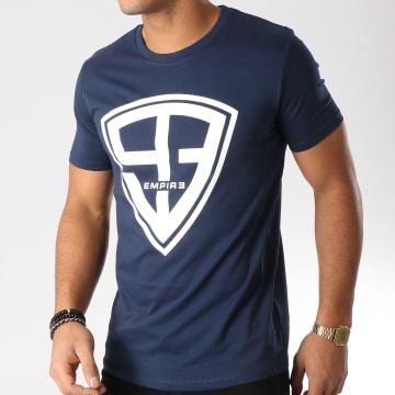 93 Empire - Tee Shirt 93 Empire Bleu Marine