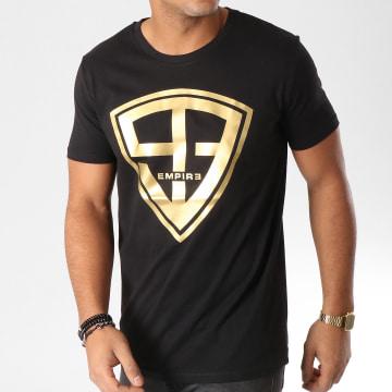 93 Empire - Tee Shirt 93 Empire Noir Or