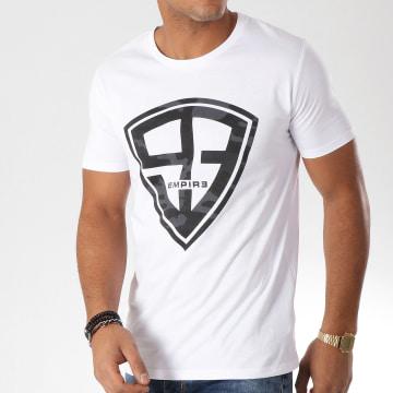 93 Empire - Tee Shirt 93 Empire Camo Blanc Noir