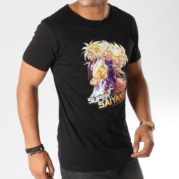 Dragon Ball Z - Tee Shirt Saiyans Noir