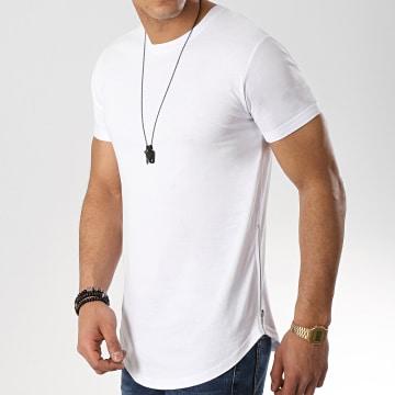 Tee Shirt Oversize Avec Zips 513 Blanc