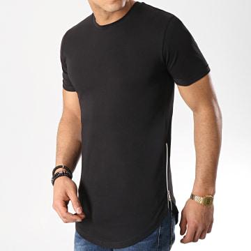 Tee Shirt Oversize Avec Zips 514 Noir