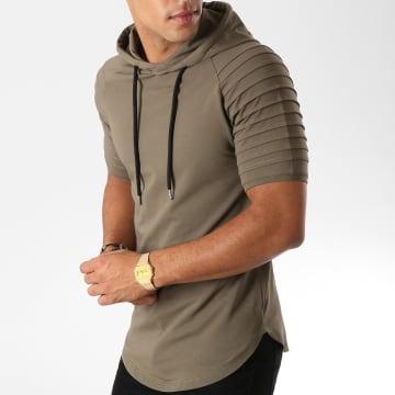 LBO - Tee Shirt Capuche Oversize 545 Khaki