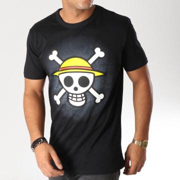 One Piece - Tee Shirt Skull Noir