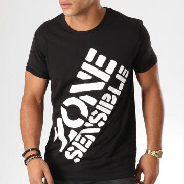 Y et W - Tee Shirt Logo Noir