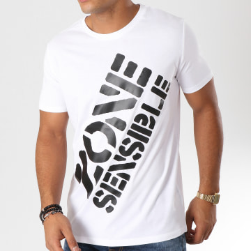 Y et W - Tee Shirt Logo Blanc