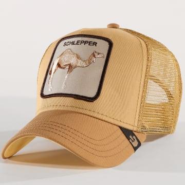 Goorin Bros - Casquette Trucker Schlepper Camel