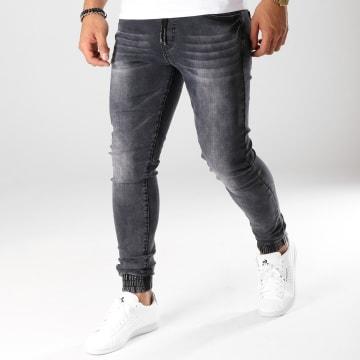 LBO - Jogger Pant Skinny Jeans 20180426-2 Denim Noir