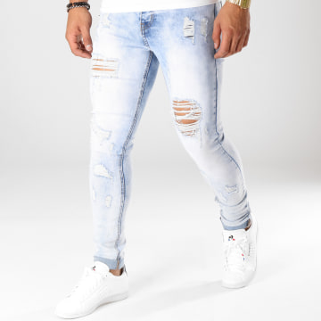 Jean Skinny LB054-4 Denim Wash