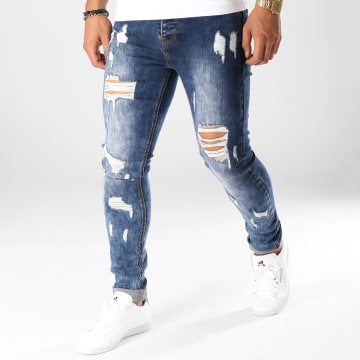 Jean Skinny LB054-7 Bleu Medium