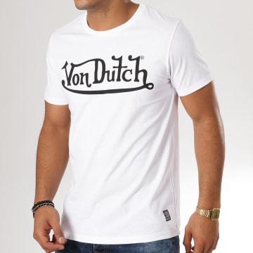 Von Dutch - Tee Shirt Best Blanc Noir