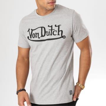 Von Dutch - Tee Shirt Best Gris Chiné