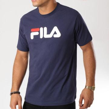Fila - Tee Shirt Pure 681093 Bleu Marine