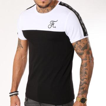 Tee Shirt Bicolore 125 Noir Blanc
