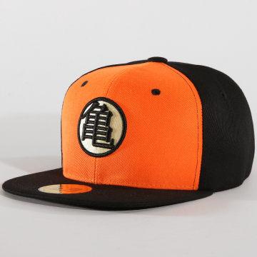 Dragon Ball Z - Casquette Snapback Kame Noir Orange