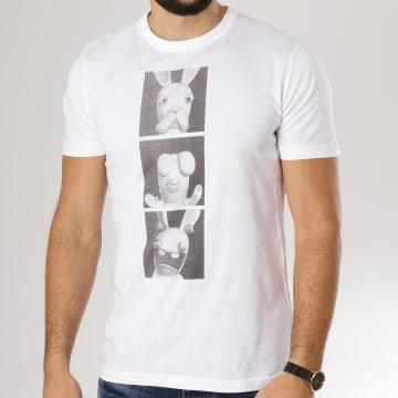 Lapins Crétins - Tee Shirt Lapins De La Sagesse Blanc