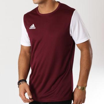 Adidas Performance - Tee Shirt De Sport Estro 19 Jersey DP3239 Bordeaux