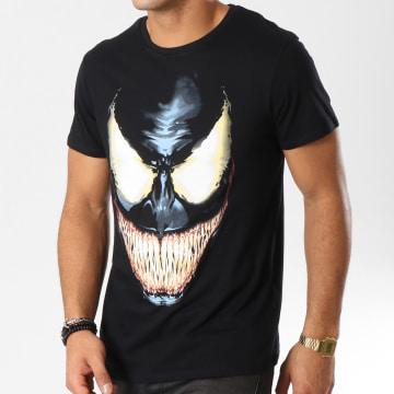 Tee Shirt Face Noir