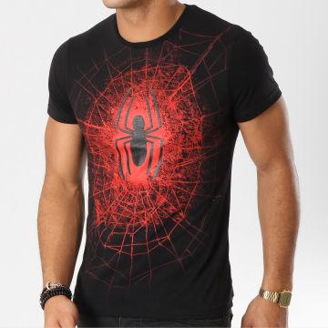 Spiderman - Tee Shirt Spiderman 2017 Noir Rouge