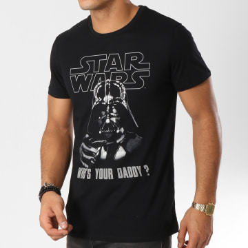 Star Wars - Tee Shirt Who s Your Daddy Noir
