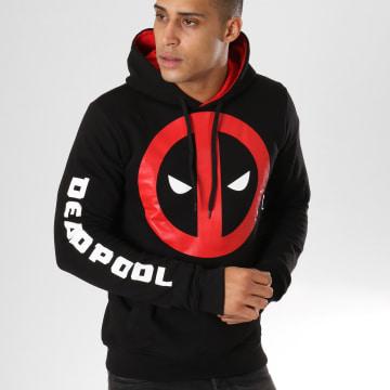 Deadpool - Sweat Capuche Logo Noir