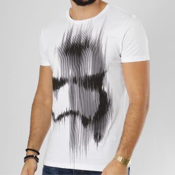 Tee Shirt Faded Stormtrooper Blanc