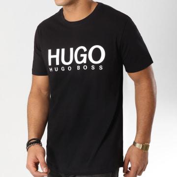 HUGO - Tee Shirt Dolive 50387414 Noir Blanc