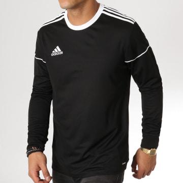 Tee Shirt Manches Longues De Sport Squad Jersey 17 BJ9185 Noir