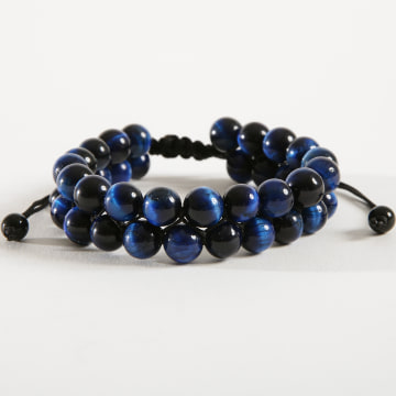 California Jewels - Bracelet B943-1 Bleu Marine