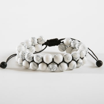California Jewels - Bracelet B944-2 Blanc