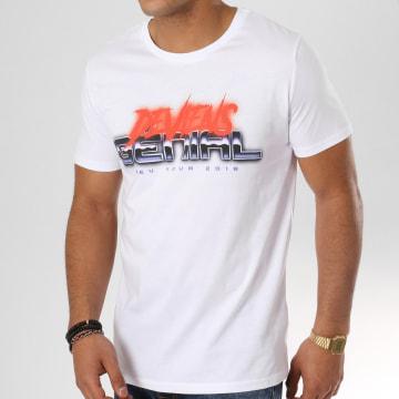 NQNT - Tee Shirt Xeu Tour Chrome Blanc