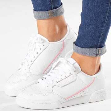Baskets Femme Continental 80 G27722 Footwear White True Pink Clear Pink