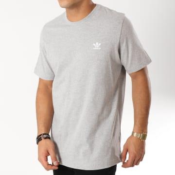 Tee Shirt Essential DV1641 Gris Chiné