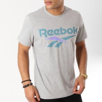 Reebok - Tee Shirt Classic Vector DW9510 Gris Chiné